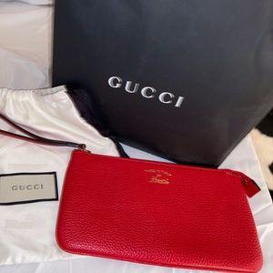 Gucci Wrist purse-RED